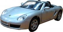 Машинка Kinsmart Porsche Boxster S, серебрянный