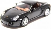Машинка Kinsmart Porsche Cayman, черный