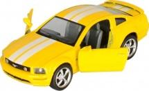 Машинка Kinsmart Ford Мустанг ГТ, желтый