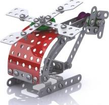 Конструктор Десятое королевство Вертолет металлический