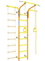 Шведская стенка Romana Karusel S5, оранжевый