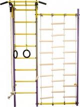 Шведская стенка Rokids Роки С, фиолетовый