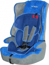 Автокресло Actrum 9-36 кг Grey/ Blue Velure