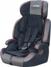 Автокресло Actrum 9-36 кг Black/Red Cant