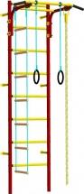 Шведская стенка Rokids Атлет 2, красный