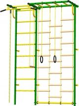 Шведская стенка Rokids Роки c рукоходом, зеленый