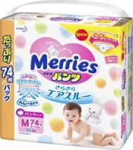 Трусики Merries M (6-11 кг) 74 шт