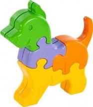 Пазл 3D Жирафики Собачка 8 дет