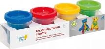 Тесто-пластилин Genio kids 4 цвета