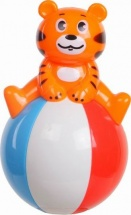 Неваляшка Yako Toys Тигренок на шаре