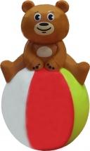Неваляшка Yako Toys Мишка на шаре