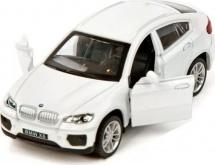 Машинка Пламенный мотор По дорогам мира BMW X6, белый