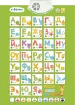 Электронный плакат Жирафики Пластилиновая азбука 7 режимов