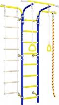 Шведская стенка Romana Karusel S5, синяя слива