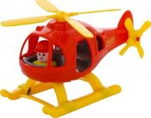 Вертолет Полесье Шмель, красный