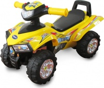 Каталка Baby Care Super ATV, желтый