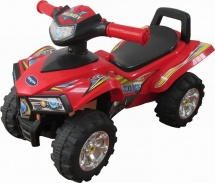 Каталка Baby Care Super ATV, красный