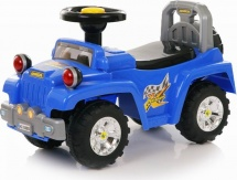 Каталка Baby Care Super Jeep, синий