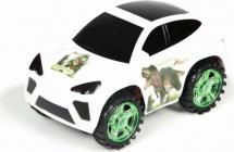 Машинка Yako Toys Dancing Car (свет, звук), белый