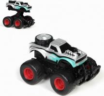 Машина Yako Toys Raptor с пружинным механизмом, серый