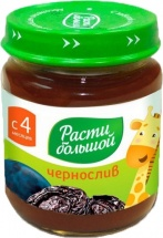 Пюре Расти большой Чернослив с 4 мес 100 г