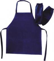 Набор для труда и рисования (фартук и нарукавники), темно-синий