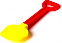 Лопата Стеллар средняя 35 см, красный/желтый