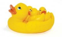 Игрушки для купания Lubby Утята 4 шт