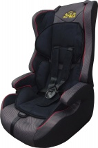 Автокресло Actrum 9-36 кг Dark grey/Red cant