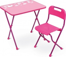 Набор мебели Ника Алина КА2, розовый