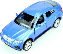 Машинка Пламенный мотор BMW X6, синий