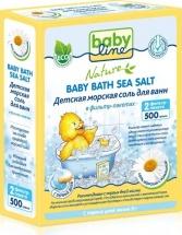 Морская соль BabyLine Nature для ванн c ромашкой 500 г