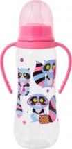 Бутылочка Мир детства Енотики, розовый 250 мл