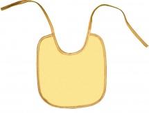 Нагрудник Колорит Желтый 20 х 22 см