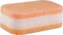 """Губка для купания """"Мраморная"""" Canpol, персиковый"""
