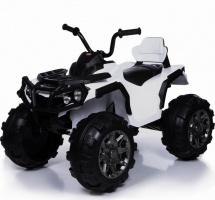 Электромобиль-квадроцикл Jetem Grizzly 2-х моторный, белый