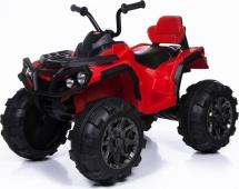 Электромобиль-квадроцикл Jetem Grizzly 2-х моторный, красный