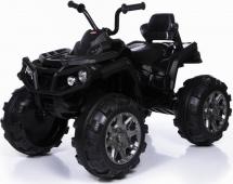 Электромобиль-квадроцикл Jetem Grizzly 2-х моторный, черный