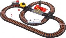 Железная дорога Yako Toys Останови крушение! с 2-мя перекрестками