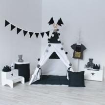 Вигвам для детей Black&White