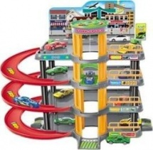Гараж-парковка S+S Toys Авто-драйв, 4 машинки
