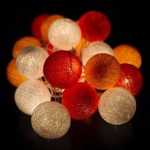 Тайская гирлянда VamVigvam оранжевая