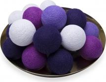 Тайская гирлянда VamVigvam фиолетовая