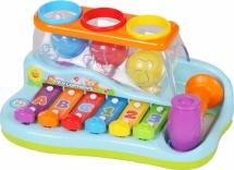 Ксилофон Huile Toys c шариками