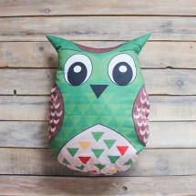 Подушка VamVigvam Green Owl