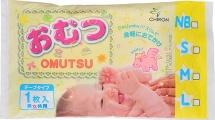 Подгузники Omutsu S (4-8 кг) 1 шт