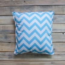 Подушка VamVigvam Blue Zigzag