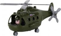 Вертолет Полесье Военный. Альфа