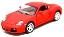 Машинка Kinsmart Porsche Cayman, красный