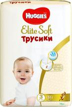 Трусики Huggies Elite Soft 3 (6-11 кг) 54 шт